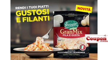 Ferrari formaggi coupon
